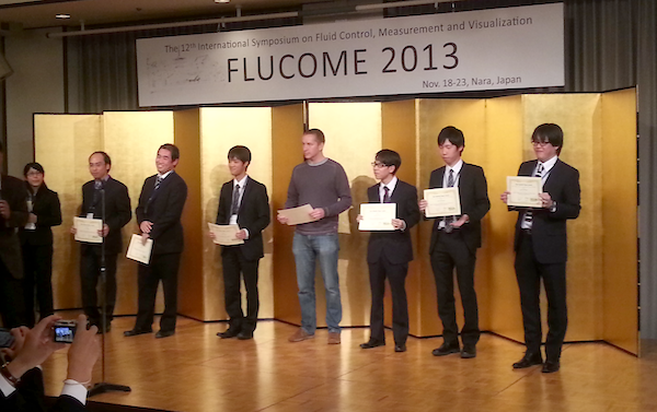 Best Student Paper Award at Flucome